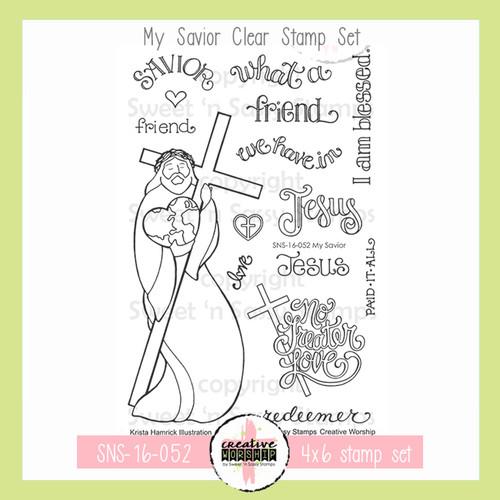 Creative Worship: My Savior Clear Stamp Set