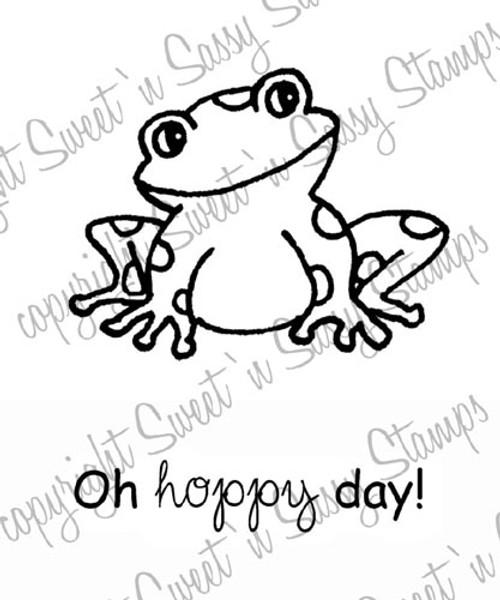 Fenton Frog Digital Stamp