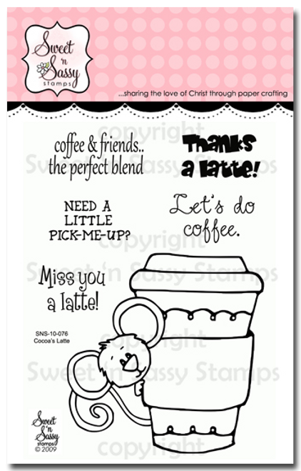 Cocoa's Latte Clear Stamp Set