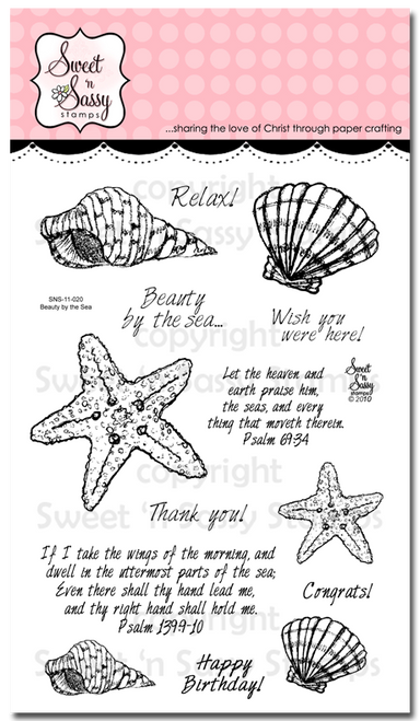 Beauty by the Sea Stamp Set