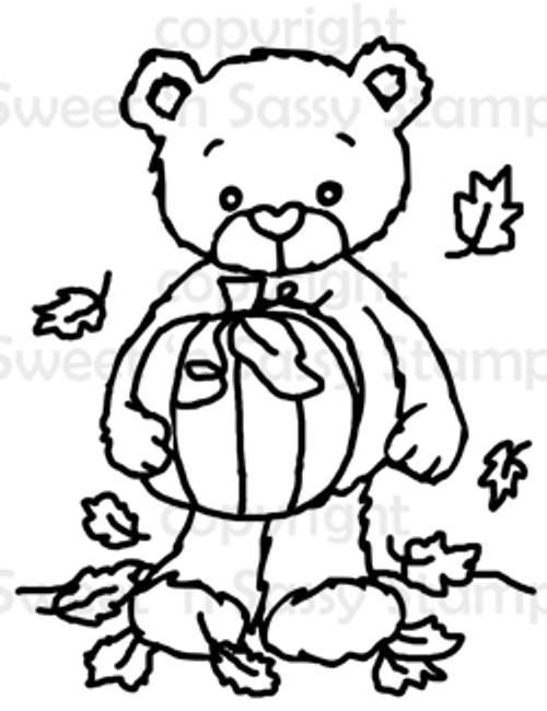 Rhubarb's Autumn Day Digital Stamp
