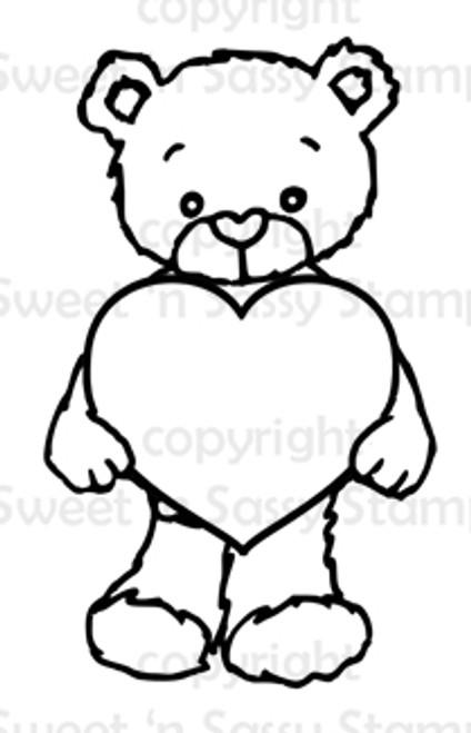 Rhubarb's Heart Digital Stamp