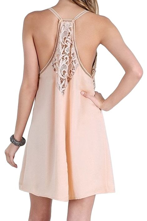 Blush Lace Slip Dress/Top