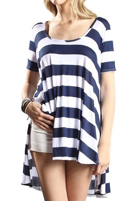 Bold Striped Tunic