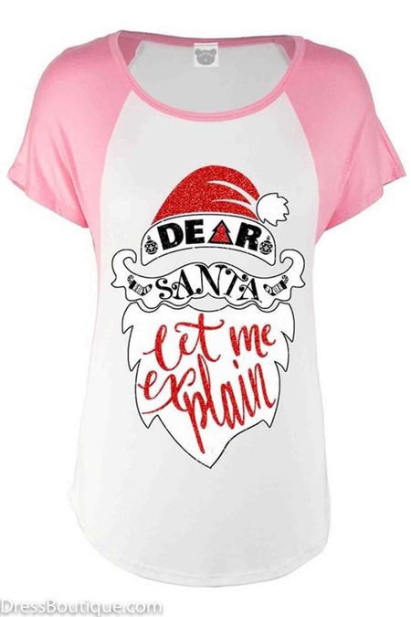 Dear Santa Rose Graphic T-shirt