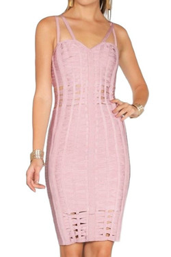 Blush Bandage Dress