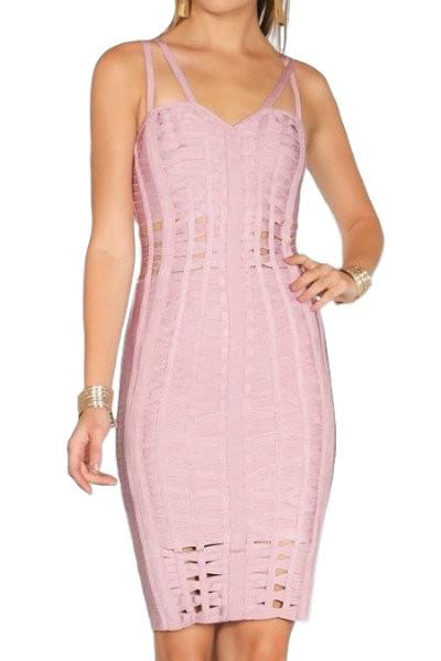 Blush Bandage Dress