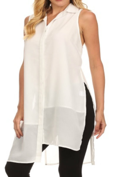 White Layered Shirt