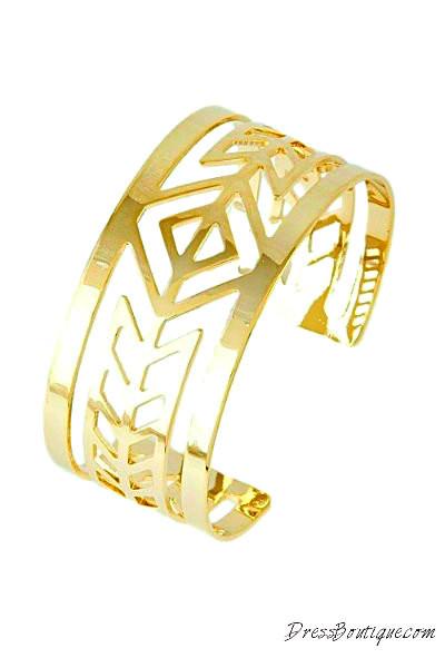 Aztec Wrap Bracelet