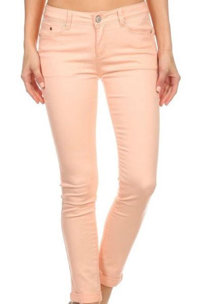 Skinny Blush Jeans