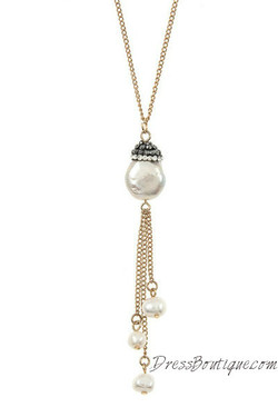 Fresh Water Pearl Pendant Necklace