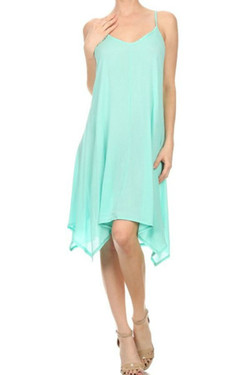 Light Green Summer Dress