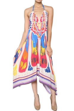 Splash Maxi Summer Dress