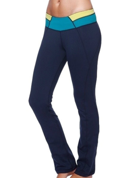 Straight Leg Yoga Pants