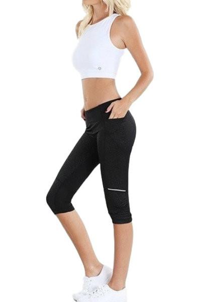 Leopard Print Yoga Pants