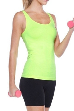 Perfect Fit Yellow Workout Top