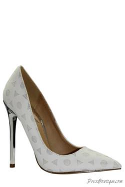 Cute White Dress Heels