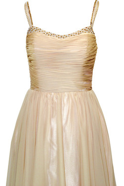 Stunning Gold Evening Dress