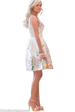 Daisy Floral Fitted Dress