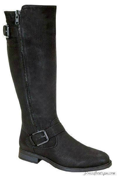 Black Women's Riding Boots