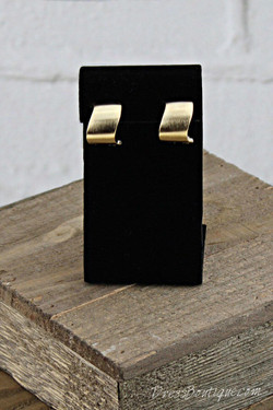 Asymmetric Satin French Clip Earrings