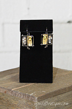 Handmade Abstract Earrings