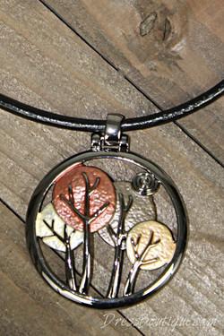 Handmade Tree Pendant