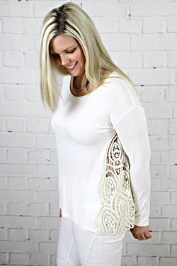 Lace Inset Blouse