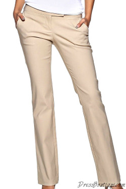 Beige Formal Slacks