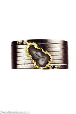 Bronze Wrap Bracelet