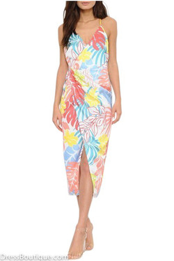 Caribbean Floral Dress