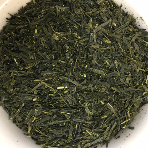 Sencha green loose leaf tea