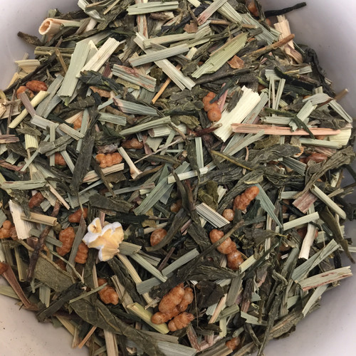 Geisha Green loose leaf tea