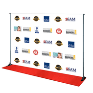 10' x 8' Step and Repeat Banner