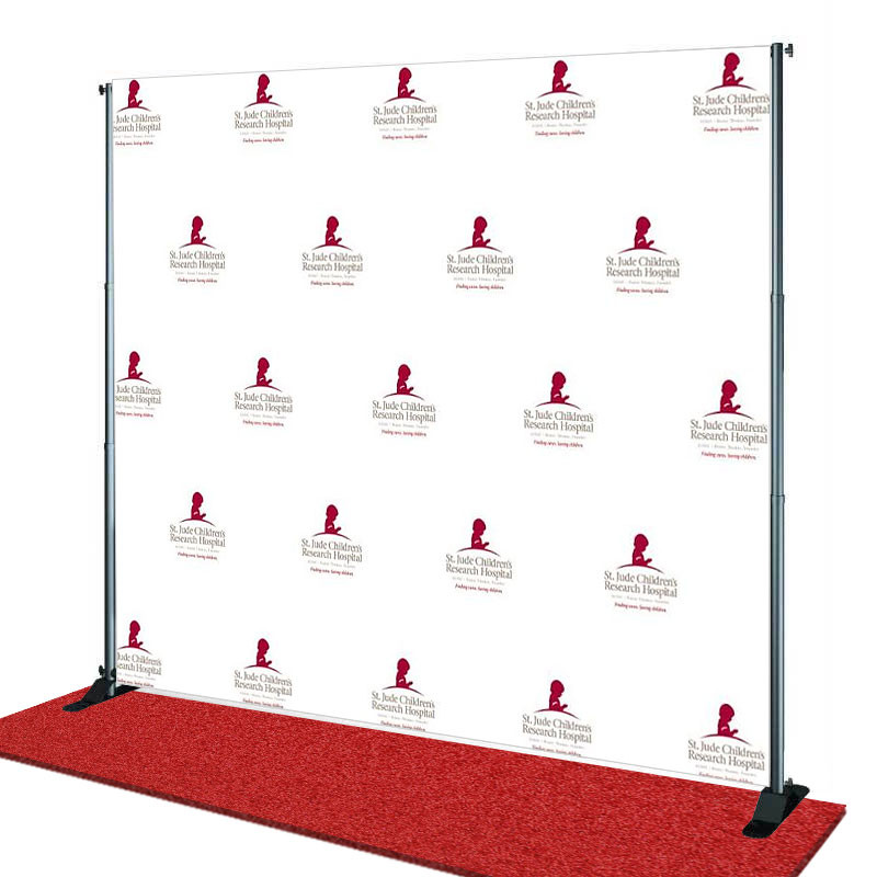 step and repeat cheap step and repeat banners same day shipping. Black Bedroom Furniture Sets. Home Design Ideas