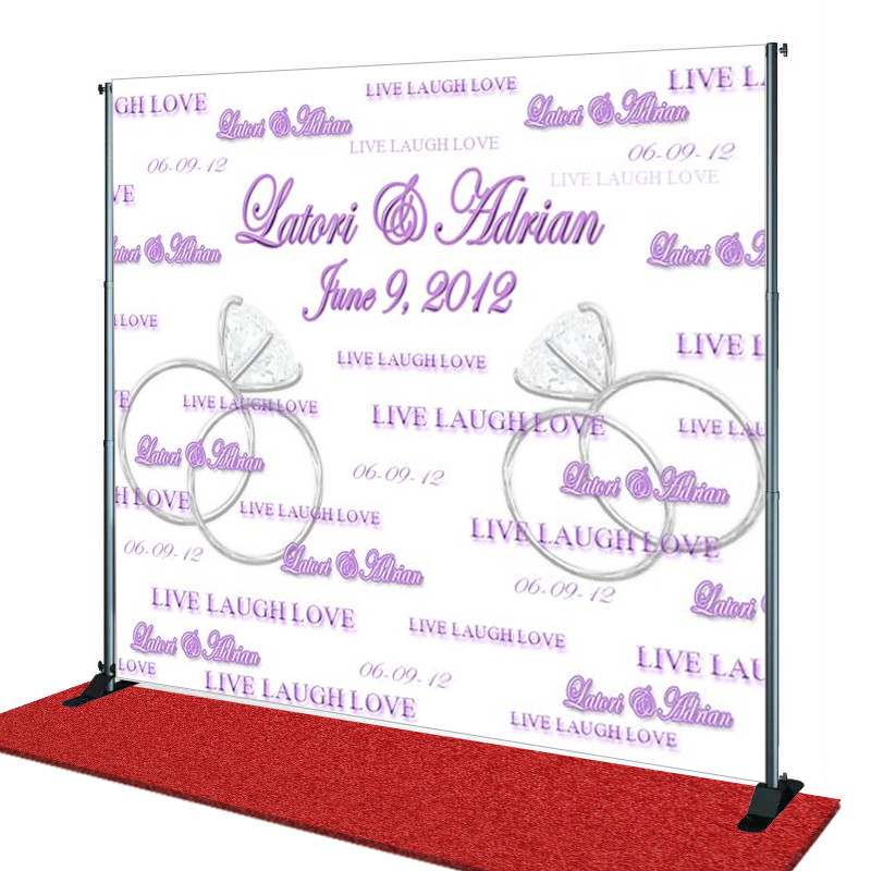 Design Your Own Red Carpet Backdrop