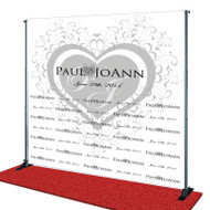 Wedding Step and Repeat Banner