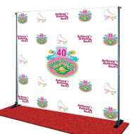 Birthday Step and Repeat Banner