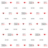 Wedding Custom Step and Repeat Banner (#4)