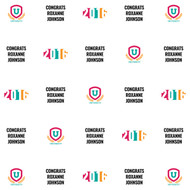 Graduation Custom Step and Repeat Banner (#3)