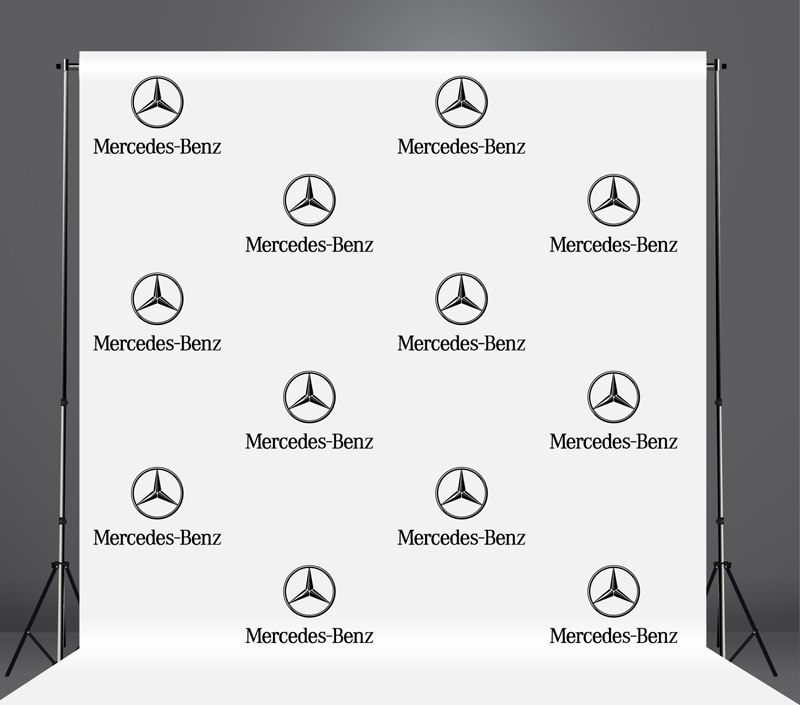 StickersBanners Featured Client: Mercedes-Benz Custom Step and Repeat Banner