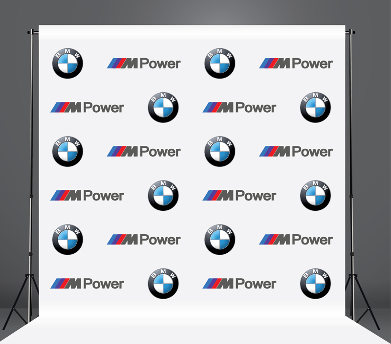 StickersBanners Featured Client: BMW Custom Step and Repeat Banner
