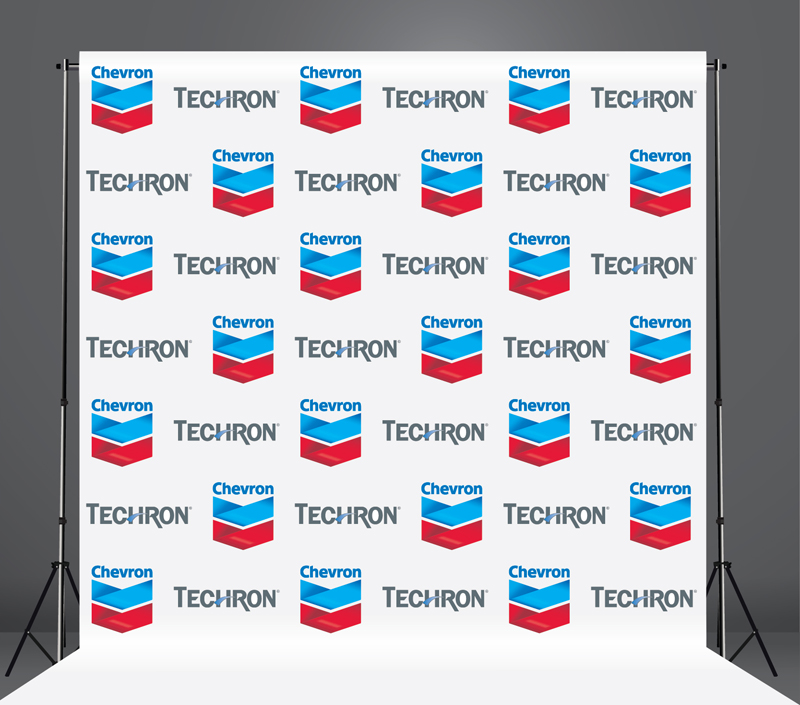 StickersBanners Featured Client: Chevron Custom Step and Repeat Banner