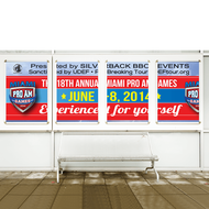 Adhesive Banners / Window Decals