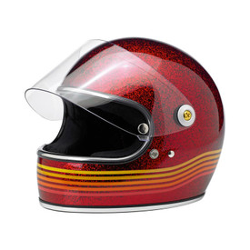 Gringo S Helmet - Le Spectrum Wine Red