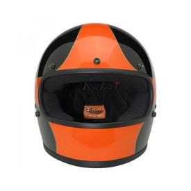 Gringo Helmet - Le Scallop in Black/Orange