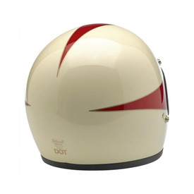 Gringo Helmet - Le Scallop in White/Red