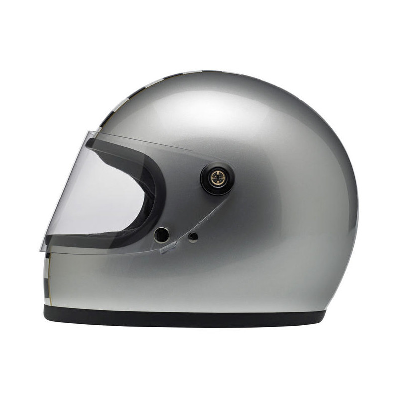 Gringo S Helmet - Le Checker in Silver