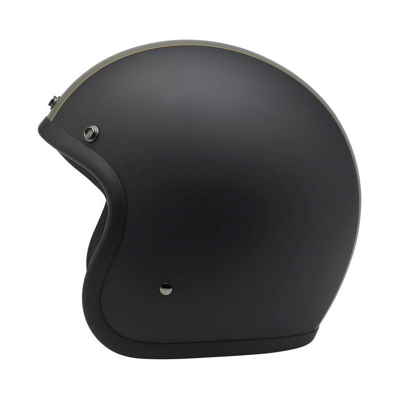 Bonanza Helmet - Le Racer Black/Grey/Gold