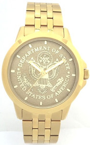 State Department Watch Gold Dial
